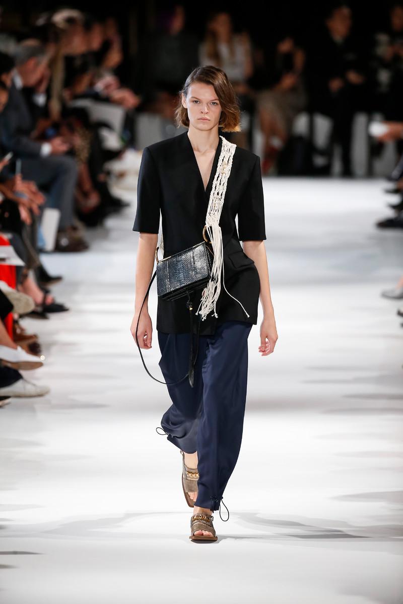 Stella McCartney Catwalk Fashion Show Womenswear SS2018 Paris