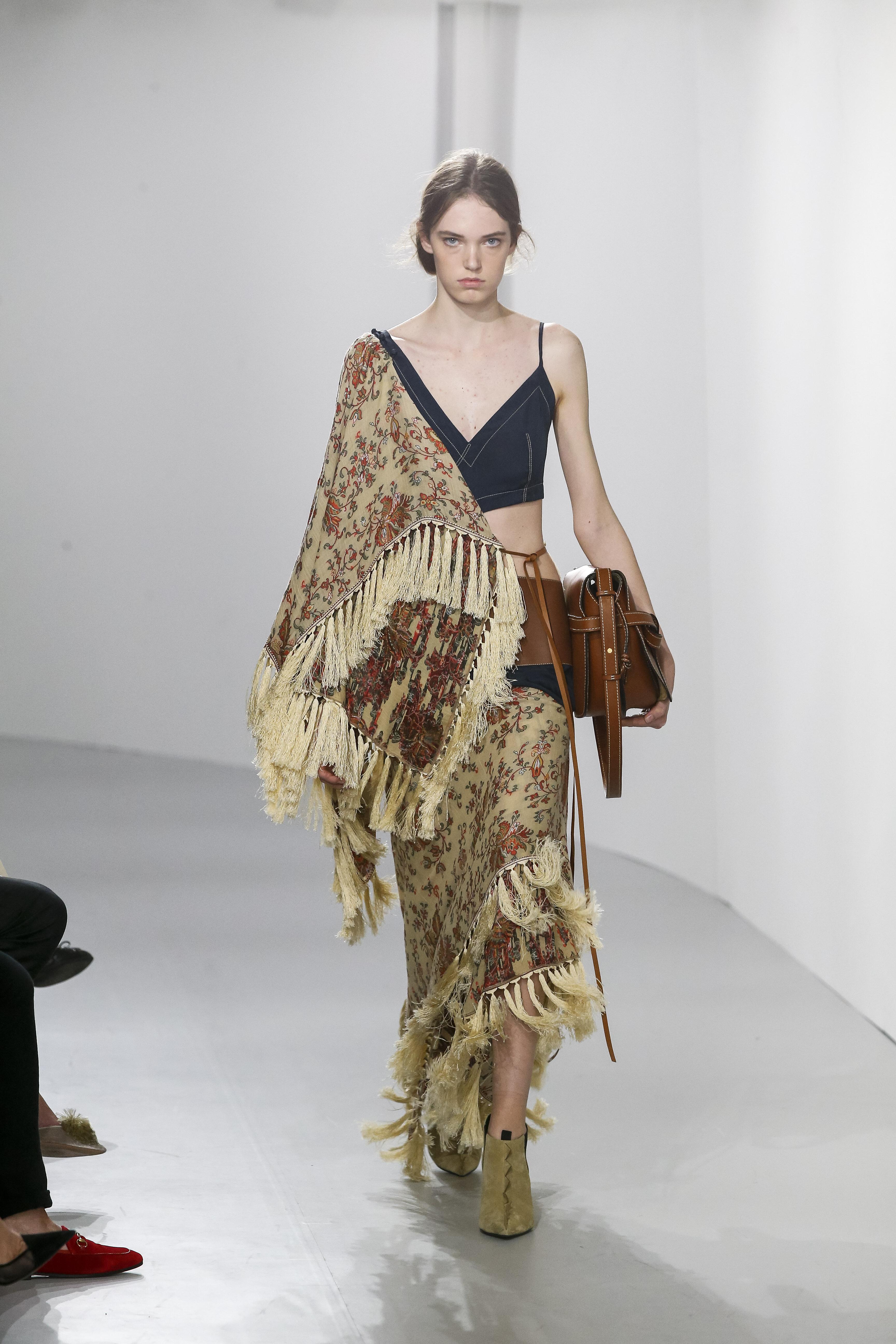 Fringe Dress Loewe Best Store To Get For Sale 3GEK3Y