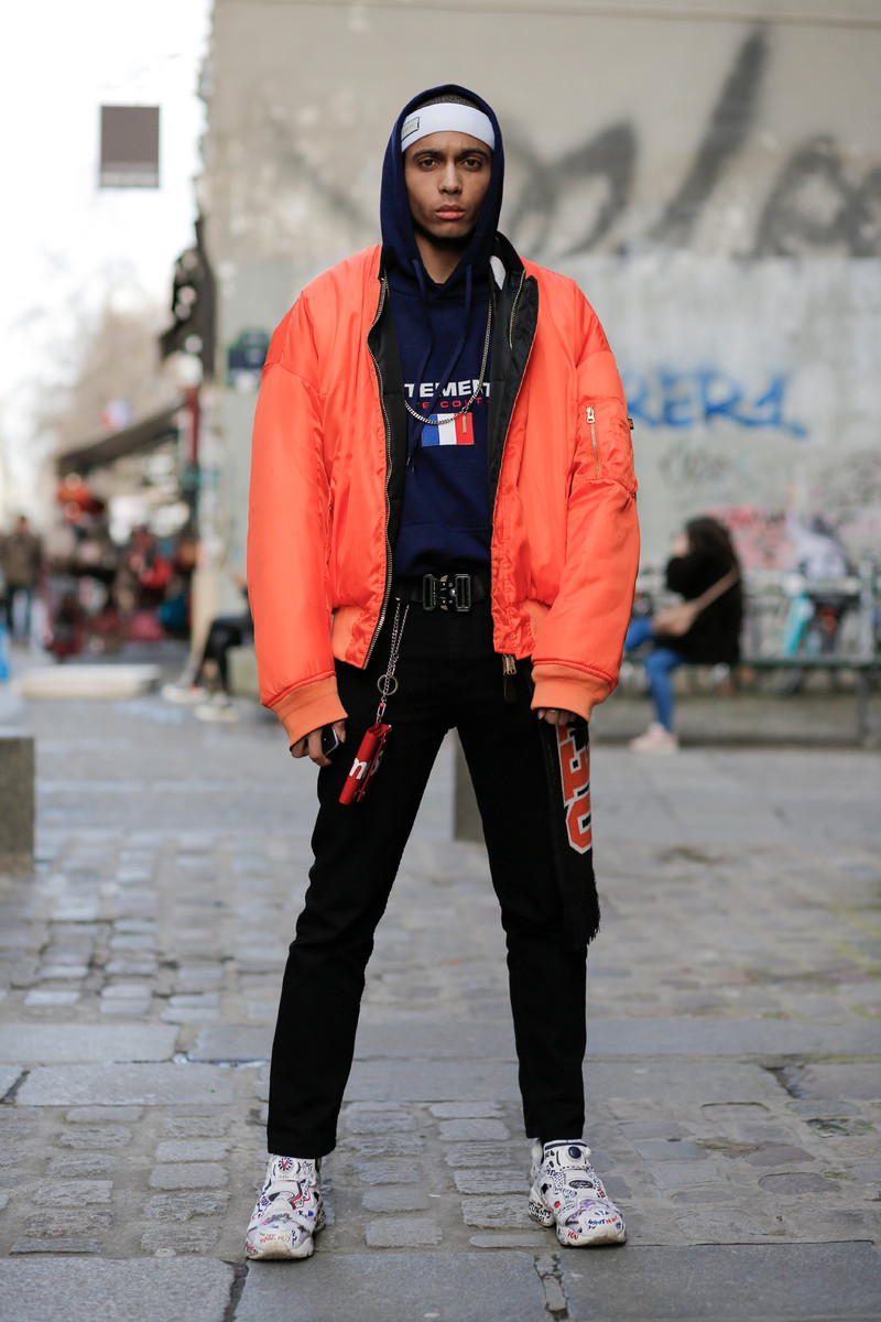 Streetfashion Paris Menswear FW2018, Day 01
