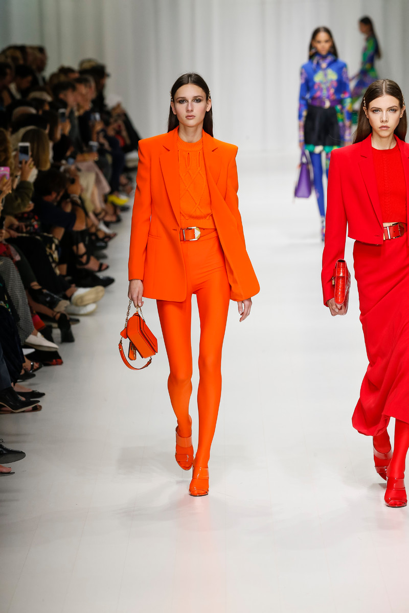 Trend spring orange forecast to wear for spring in 2019