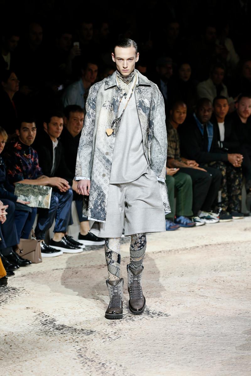 Louis Vuitton Catwalk Fashion Show Menswear Paris FW2018