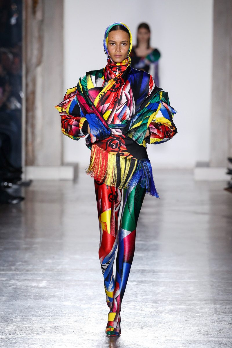Versace Catwalk Fashion Show Milan FW2018