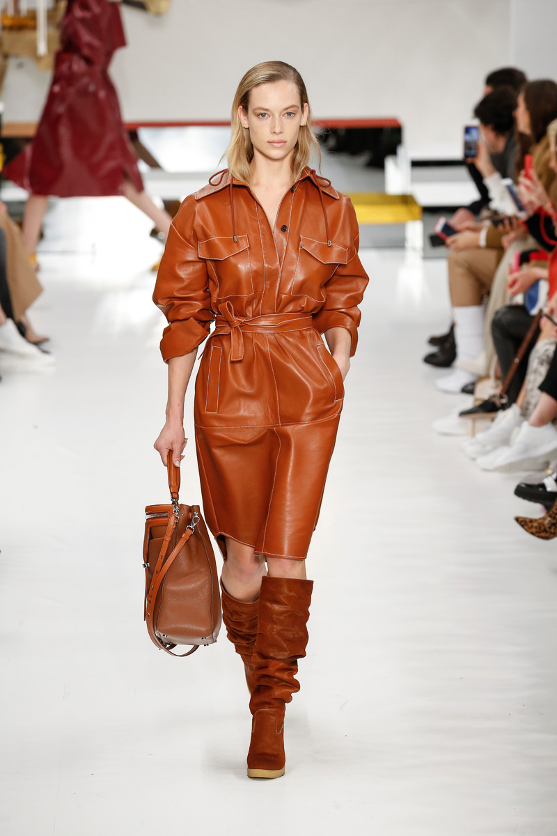 Trend Report FW2018: Leather Dress