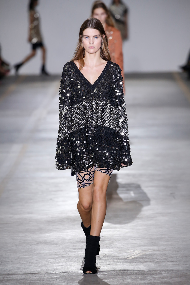 Roberto Cavalli Catwalk Fashion Show Milan Womenswear SS2019