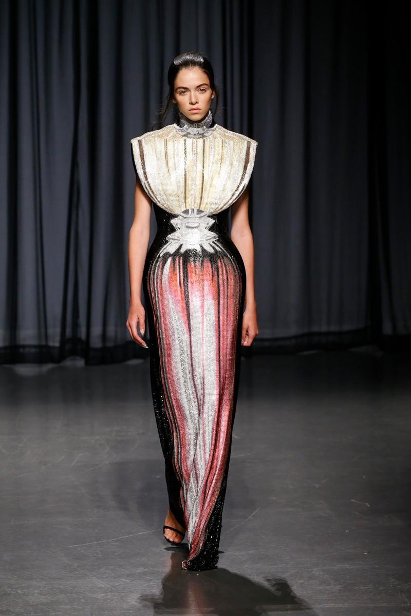 Mary Katrantzou Catwalk Fashion Show London Womenswear SS2019
