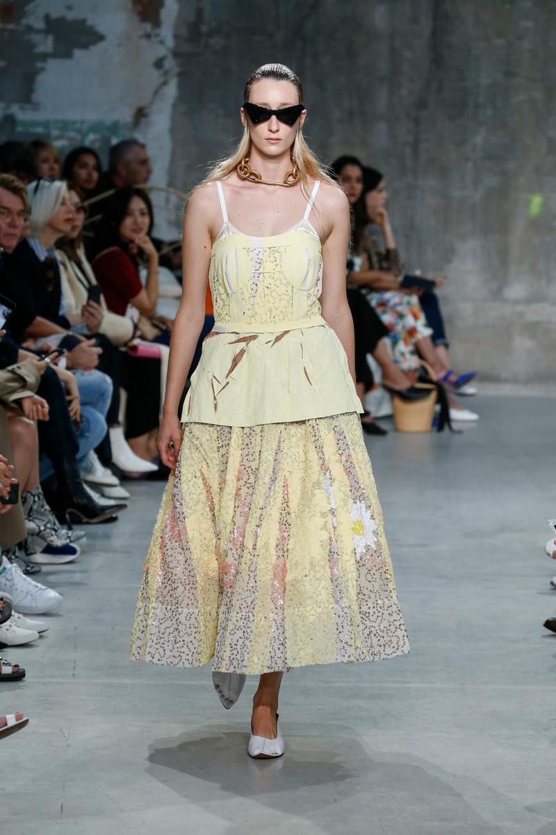 Marni Catwalk Fashion Show Milan Womenswear SS2019