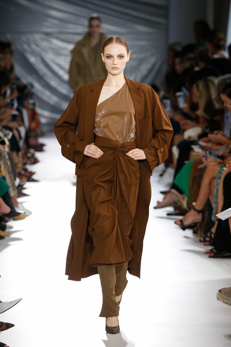 Max Mara Catwalk Fashion Show Milan Womenswear SS2019
