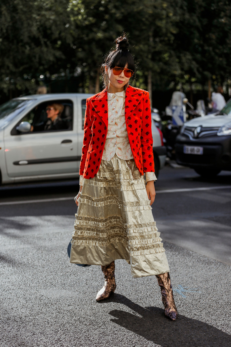 Streetfashion PFW Womenswear SS2019, Day 04