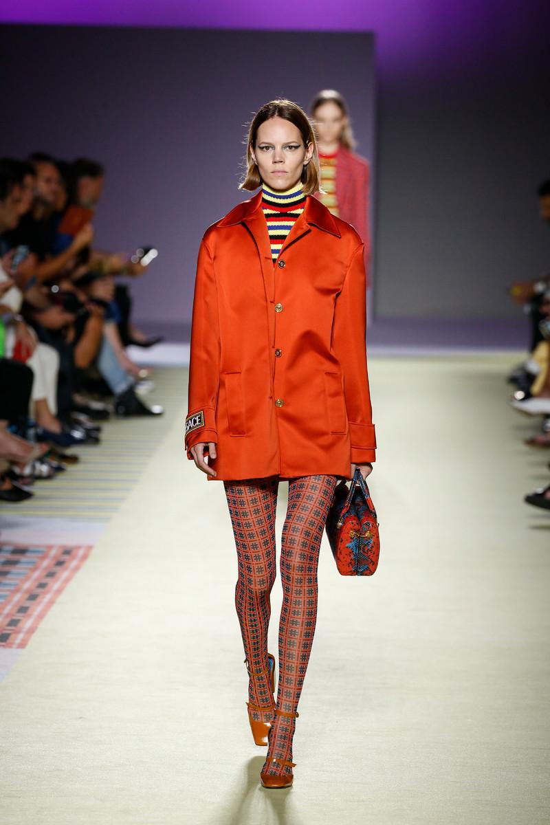 Versace Catwalk Fashion Show Milan Womenswear SS2019