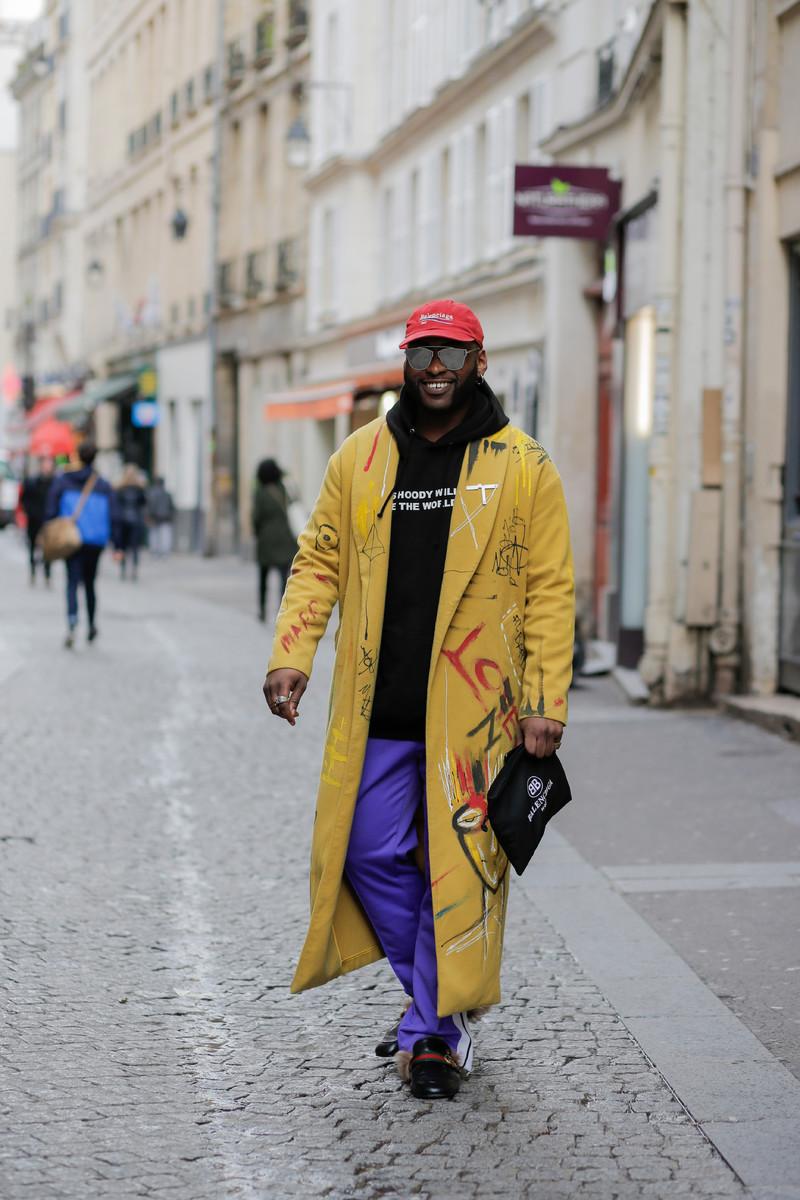 Menswear Streetwear Trend: XL Overcoat