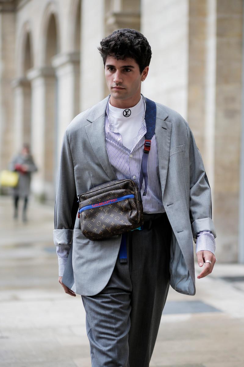 Menswear Streetwear Trend Fw2018 Crossbody Bag Team Peter Stigter