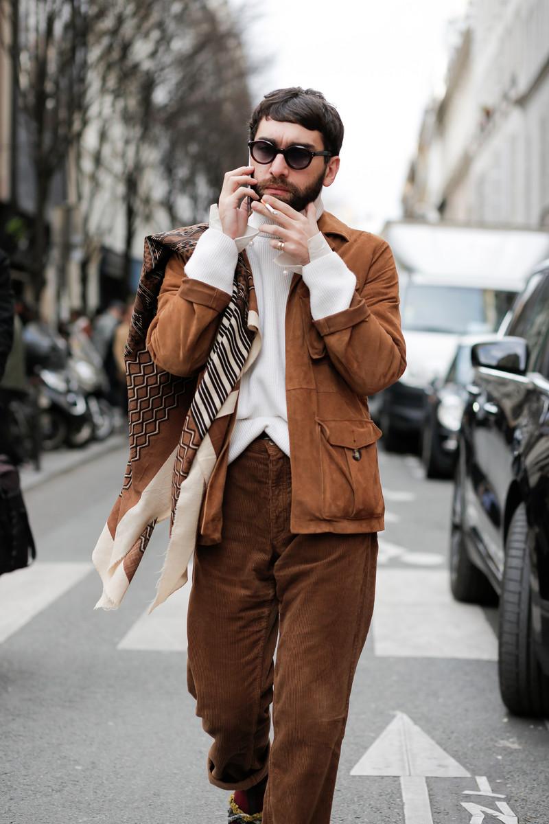 Menswear Streetwear Trend FW2018: Camel tones