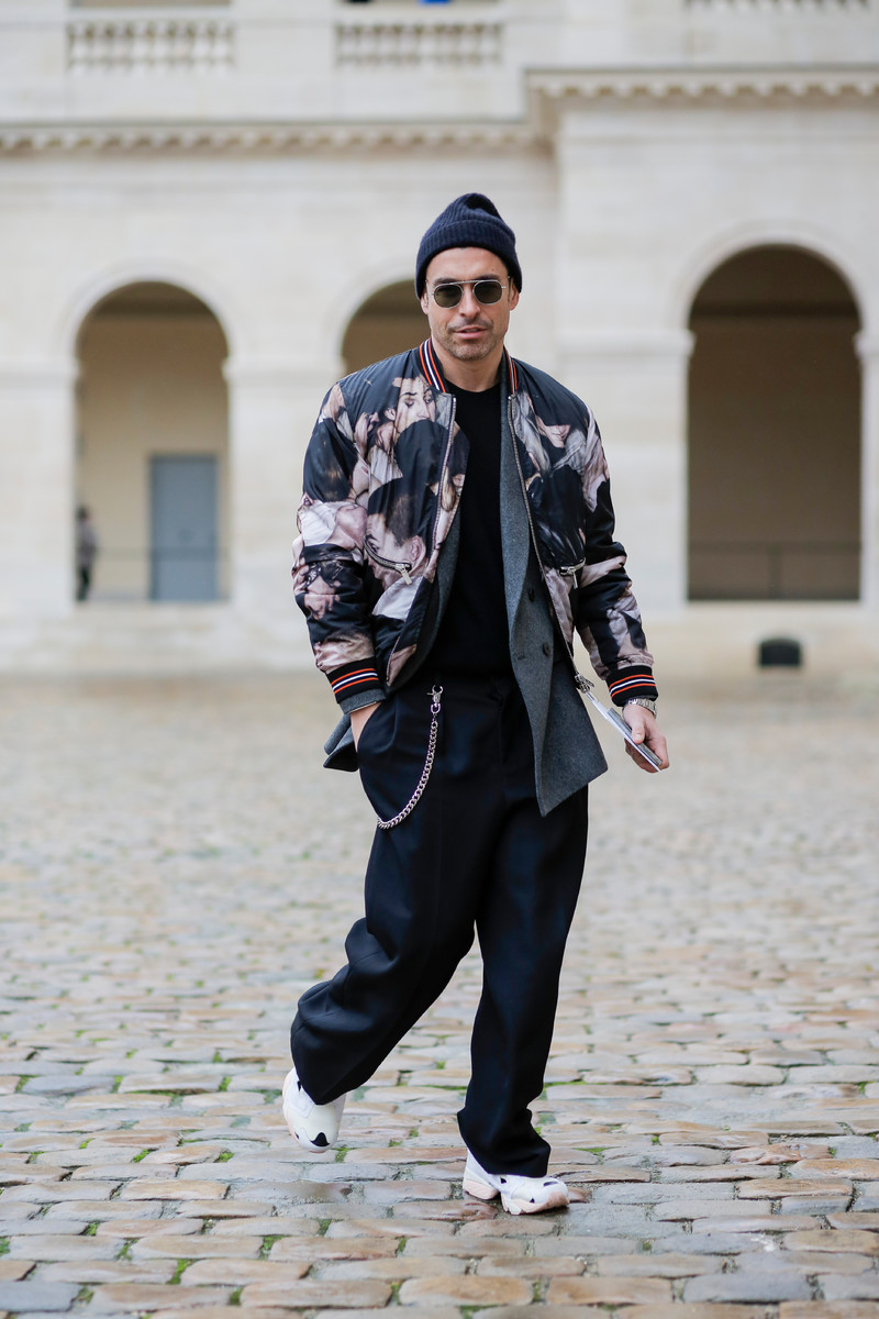Menswear Streetwear Trend FW2018: The Printed Coat