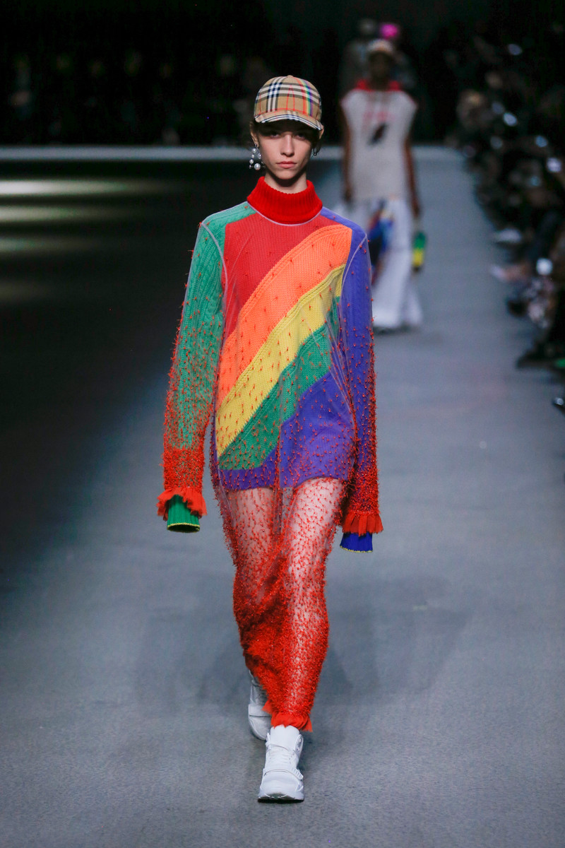 Catwalk Trend Fall Winter 2018: Rainbow Colored