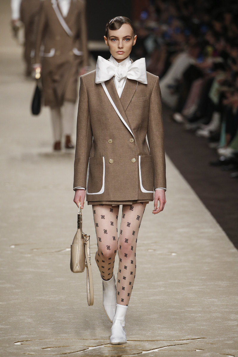 Fendi Catwalk Fashion Show Milan FW2019