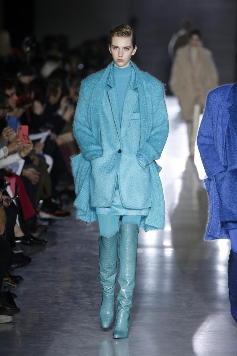 Max Mara Catwalk Fashion Show Milan FW2019