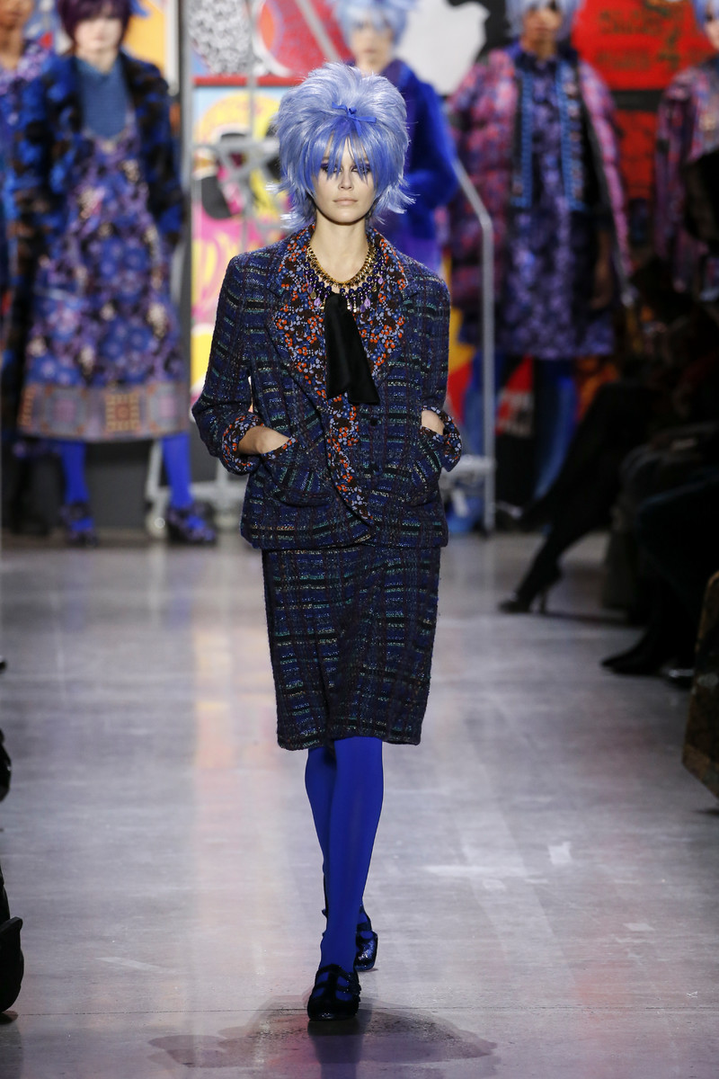 Anna Sui Catwalk Fashion Show New York FW2019