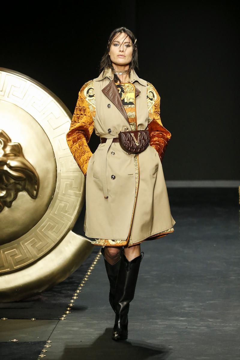 Versace Catwalk Fashion Show Milan FW2019
