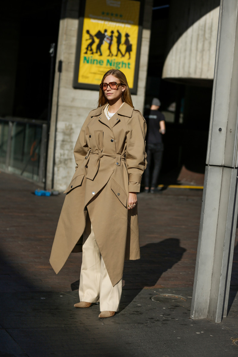 Streetstyle Trend SS2019: Trenchcoat