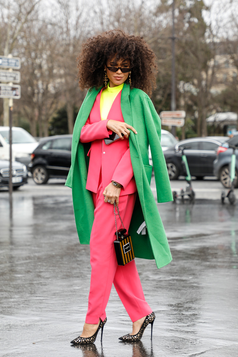 Streetfashion Paris Fashion Week FW2019 Day 8
