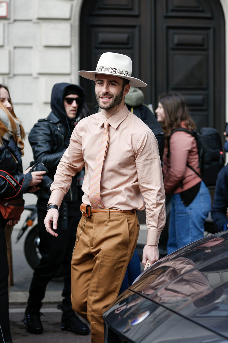 Menswear Streetstyle Trend SS2019: Come on Camel