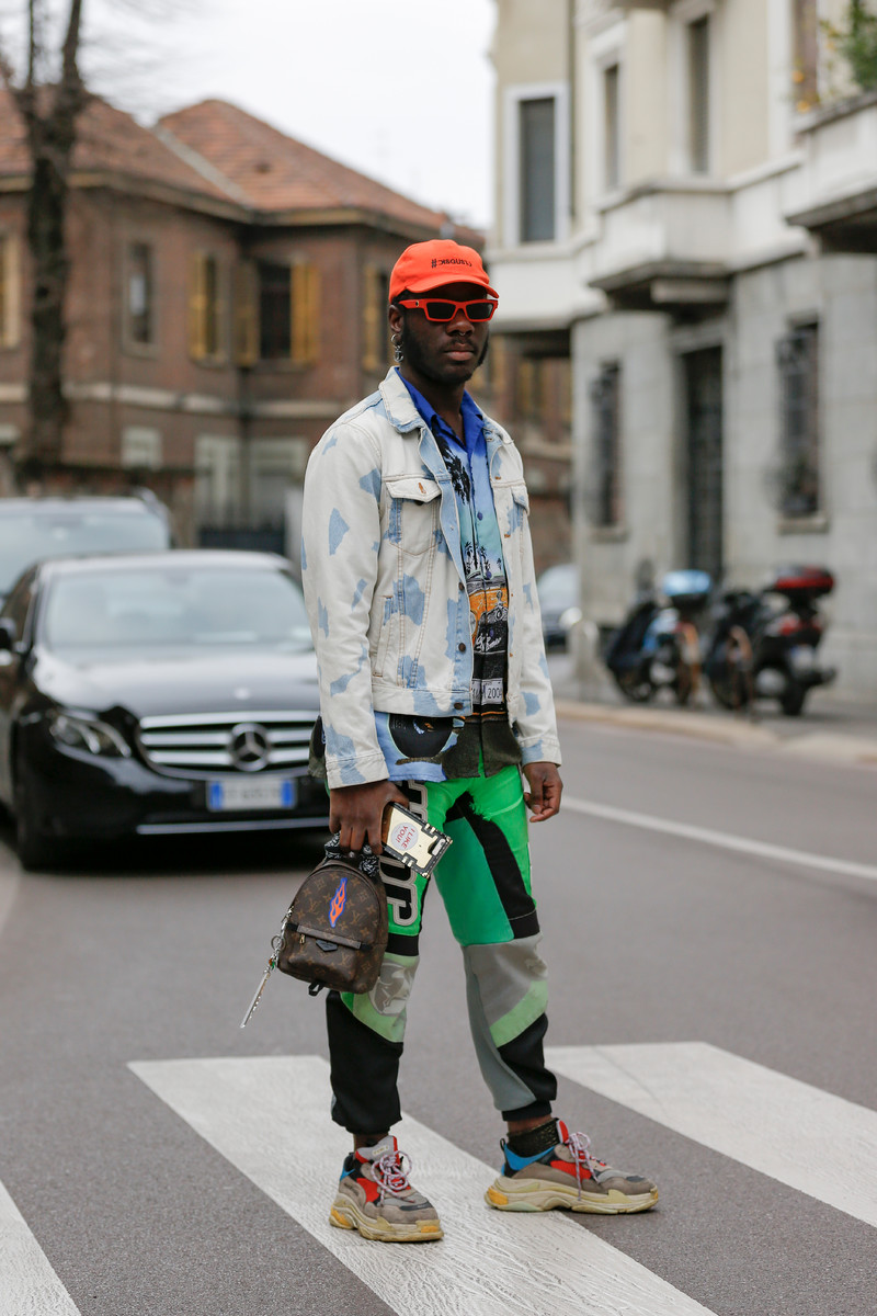 Menswear Streetstyle Trend SS2019: Boys will be boys