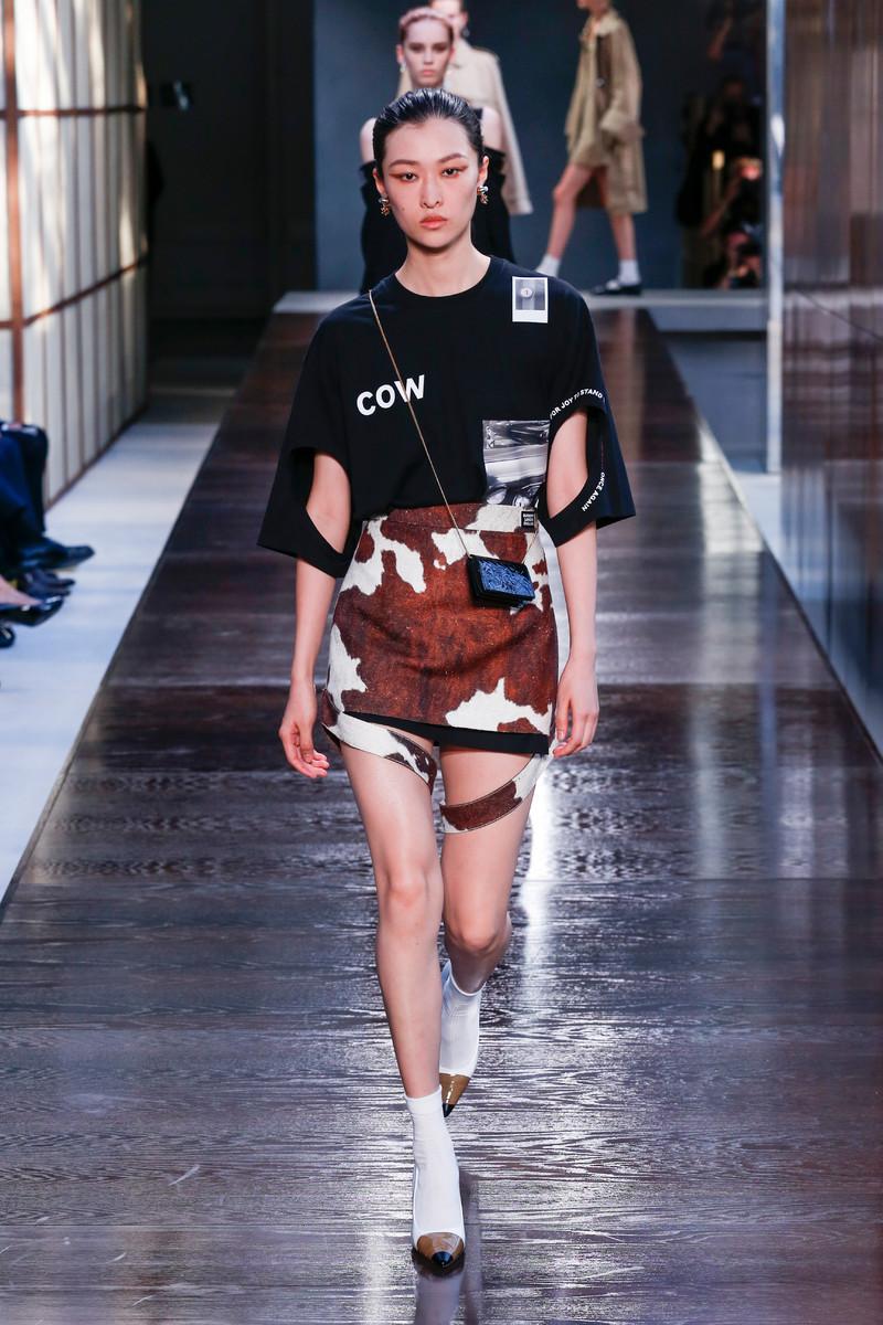 Catwalk Trend Spring/Summer 2019: Cow Prints
