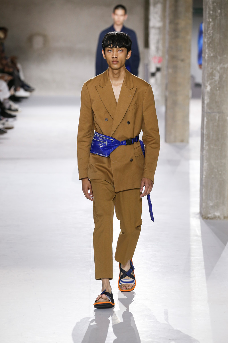 Colorful Crossbody Menswear Trend SS2019