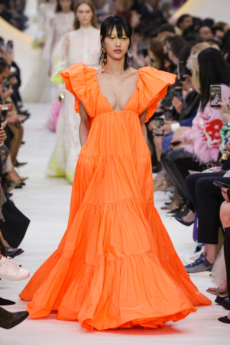 Tangerine Catwalk Fashion Trend SS2020